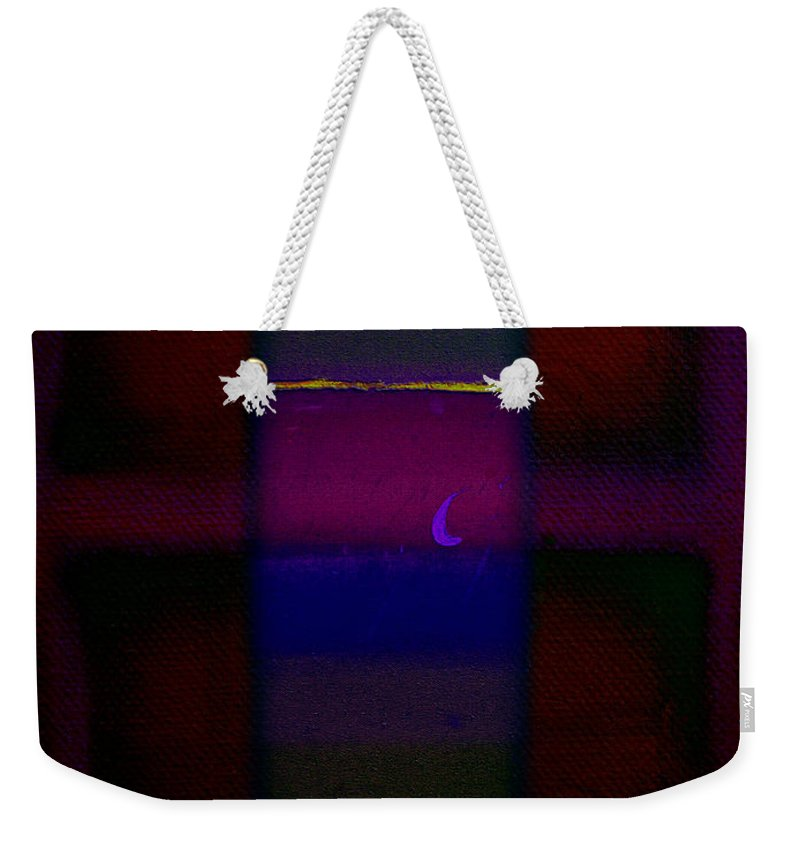 Rothko Weekender Tote Bag featuring the painting Red Sky At Night by Charles Stuart