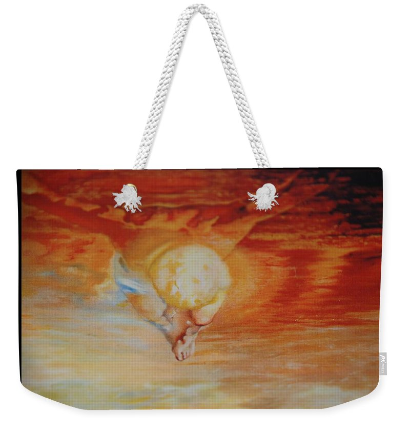 Angels Weekender Tote Bag featuring the photograph Red Sky by Rob Hans
