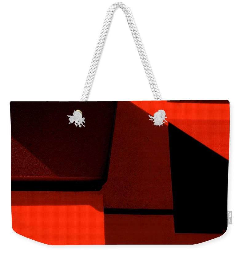Photography Weekender Tote Bag featuring the photograph RED by Susanne Van Hulst