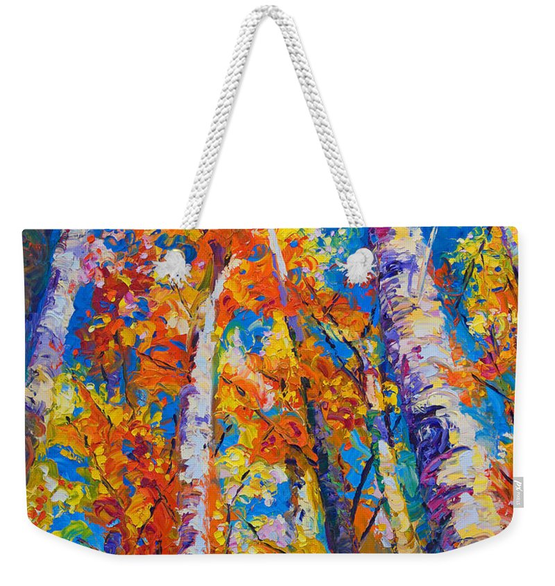 Light Paint Weekender Tote Bags