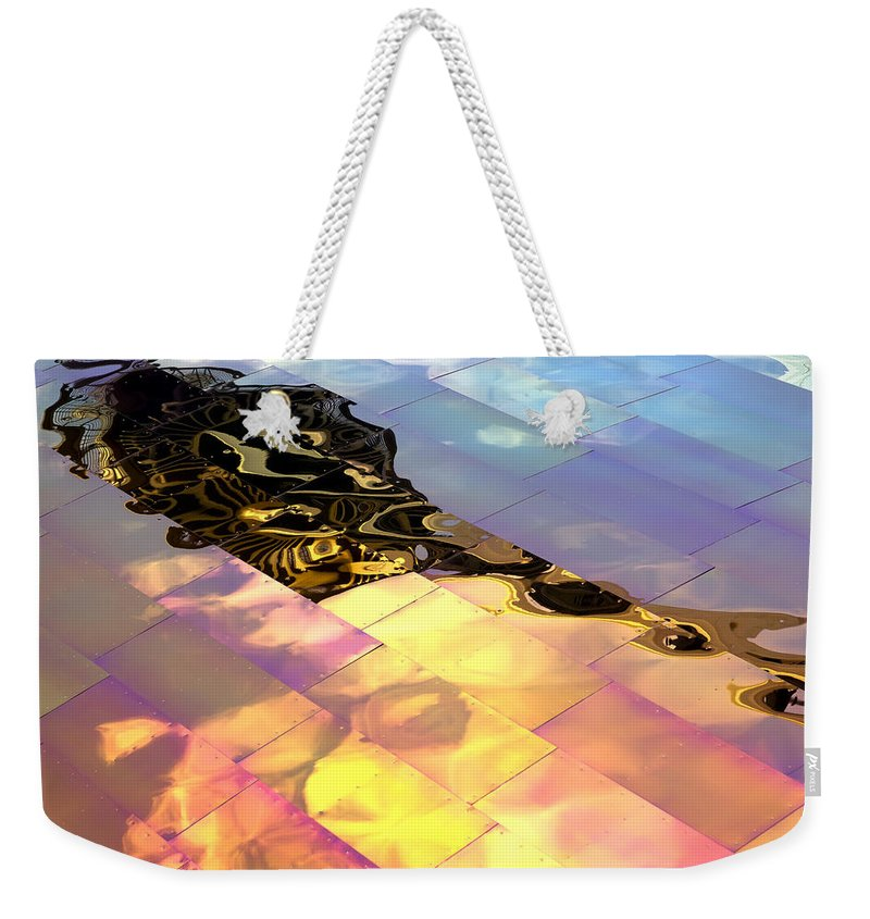 Emp Weekender Tote Bag featuring the photograph Reflecting Back by Janet Fikar