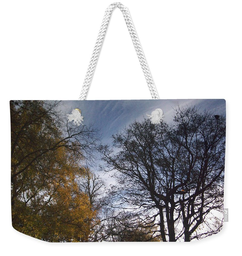 Tree Weekender Tote Bag featuring the photograph Reflection by Munir Alawi