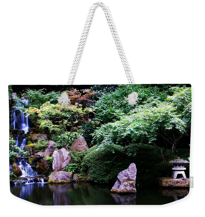 Reflection Weekender Tote Bag featuring the photograph Reflection Pond by Anthony Jones