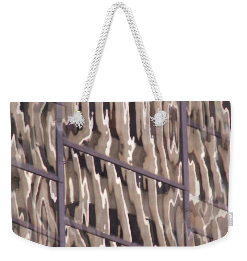 Reflection Weekender Tote Bag featuring the digital art Reflection by Tim Allen