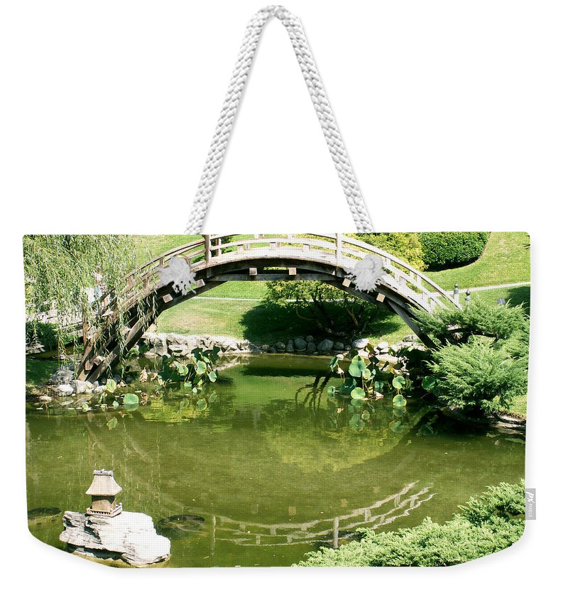 Nature Weekender Tote Bag featuring the photograph Reflections by Amy Fose