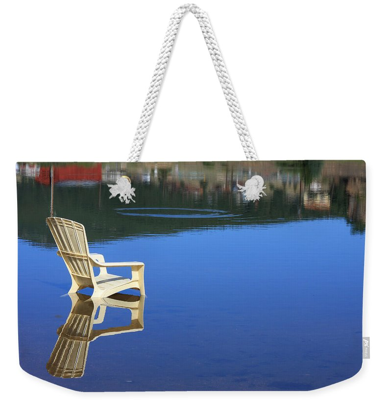 Water Weekender Tote Bag featuring the photograph Reflections Fine Art Photography Print by James BO Insogna