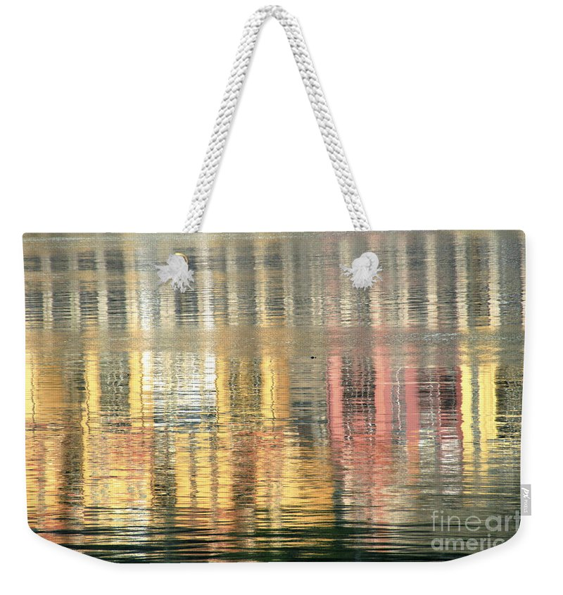 Reflection Weekender Tote Bag featuring the photograph Reflections In Water by Vladi Alon