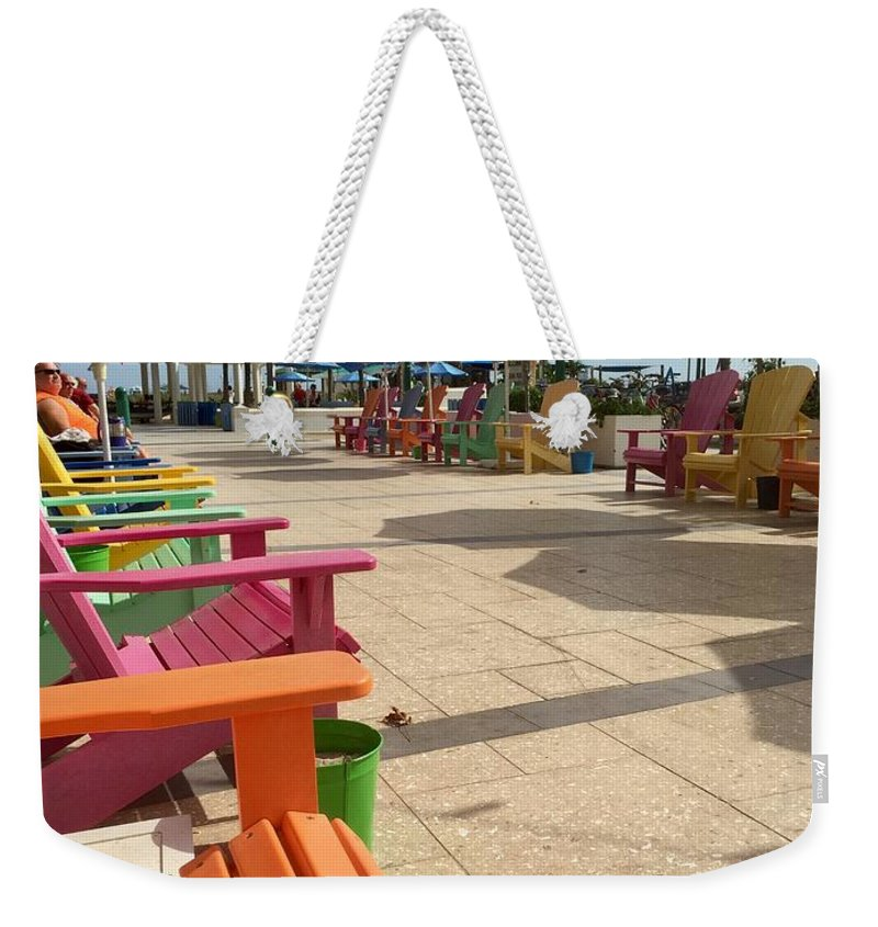 Weekender Tote Bag featuring the photograph Relax by Chris Hood