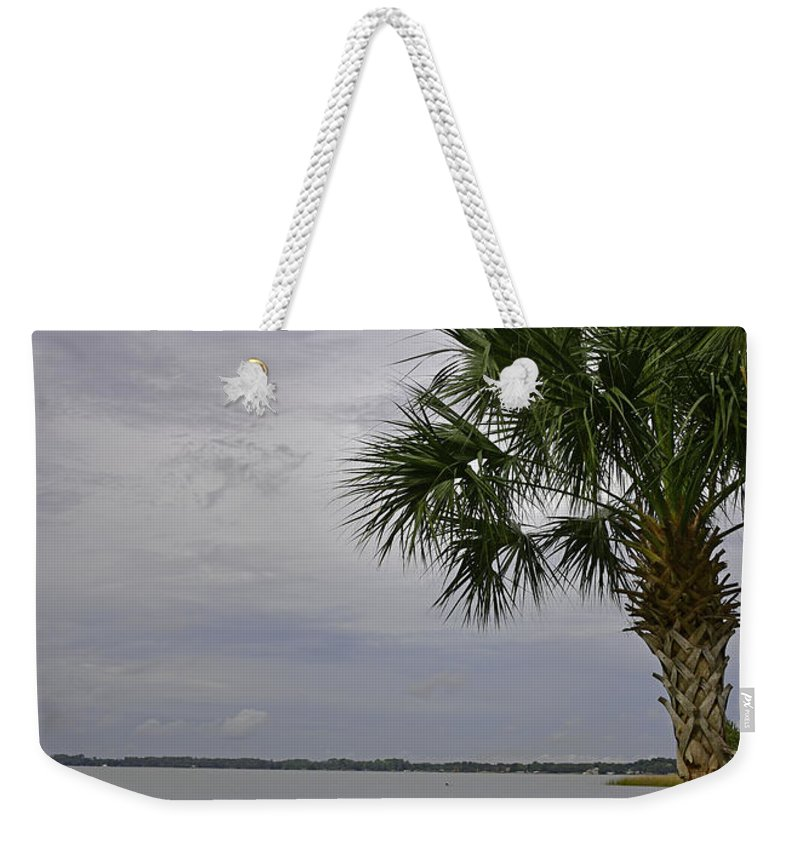 Landscape Weekender Tote Bag featuring the photograph Relaxing Place by Deborah Good