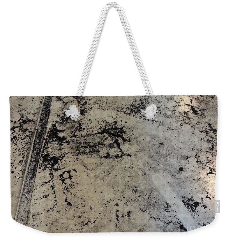 Art Weekender Tote Bag featuring the mixed media Remains 3 by Nour Refaat