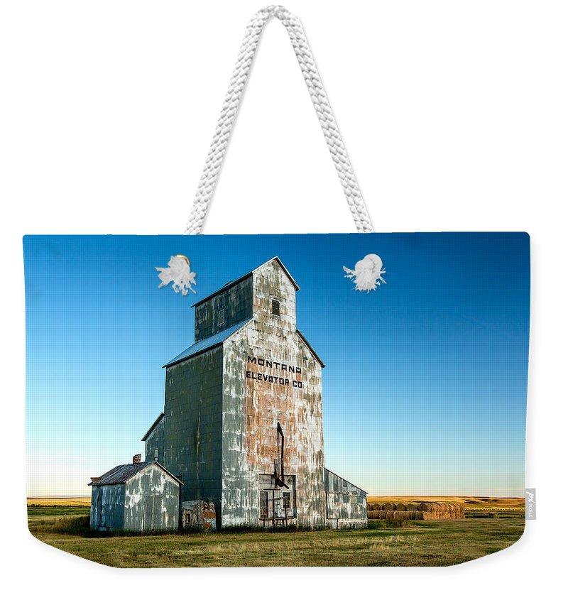 Grain Elevator Weekender Tote Bags