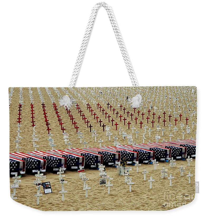 Clay Weekender Tote Bag featuring the photograph Remembering by Clayton Bruster