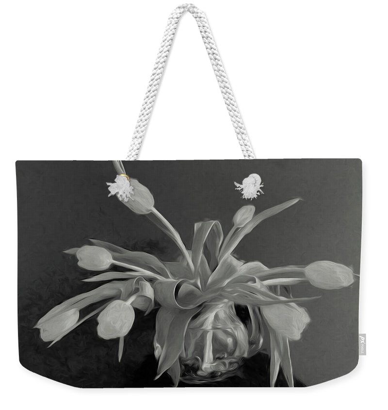Photo Painting Weekender Tote Bag featuring the photograph Remembrance by Barbara Zahno