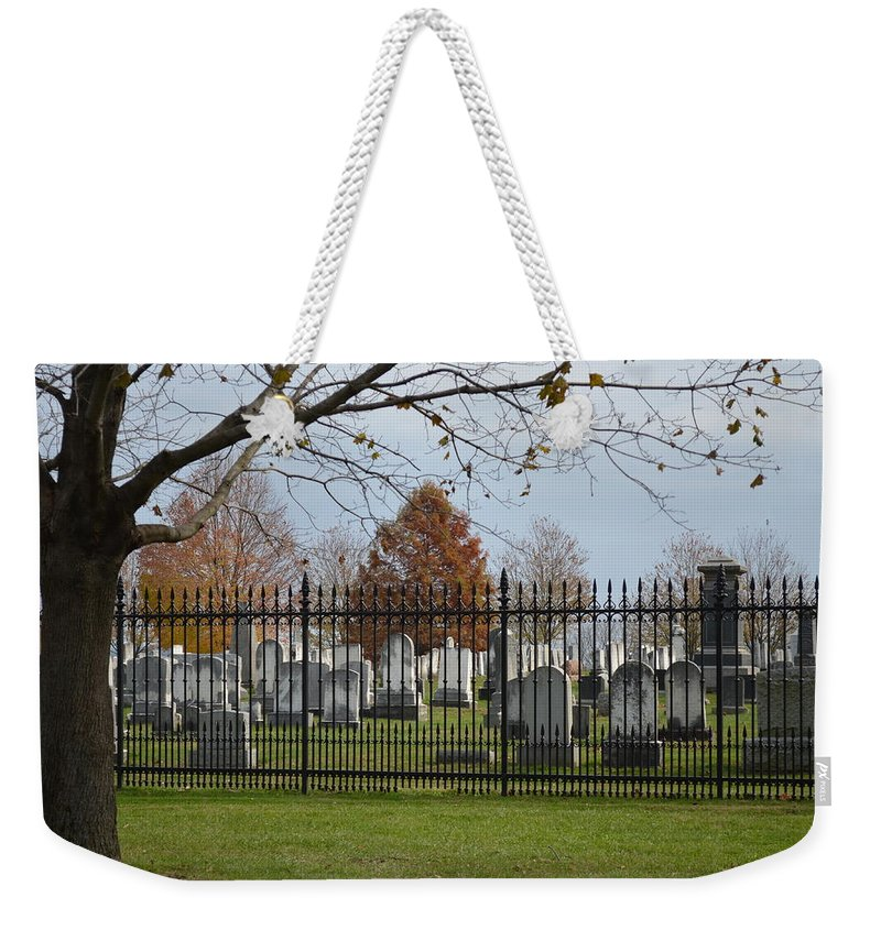 Remembrance Weekender Tote Bag featuring the photograph Remembrance by Erica Degni