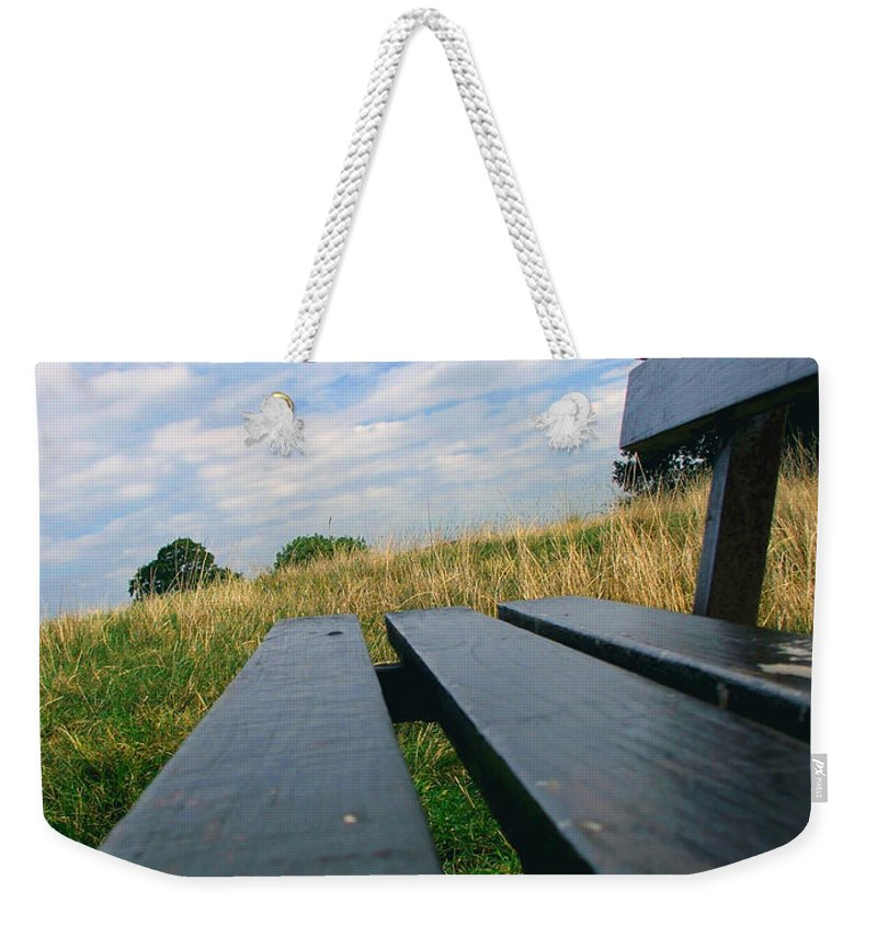 Sympathy Weekender Tote Bag featuring the photograph Remembrance by Heather Lennox