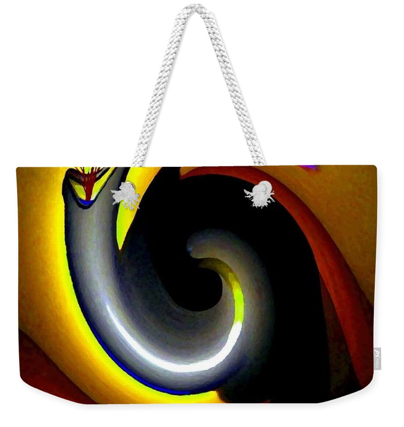 Rebirth Weekender Tote Bag featuring the digital art Renaissance by Will Borden