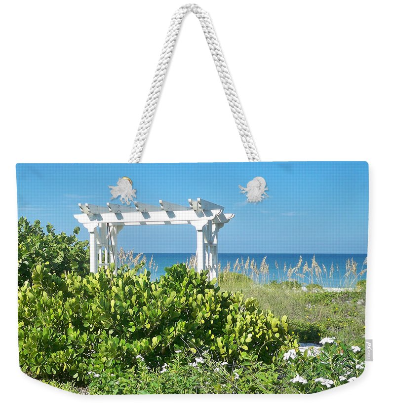 Florida Weekender Tote Bag featuring the photograph Restful by Chris Andruskiewicz