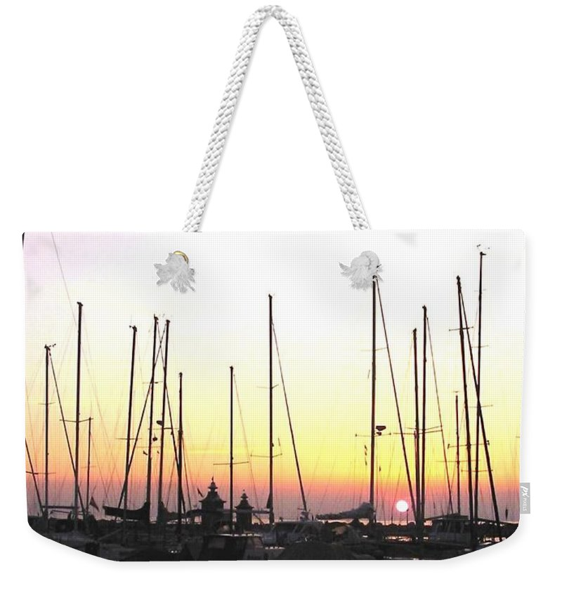 Sea Weekender Tote Bag featuring the photograph Resting Place by Dragica Micki Fortuna