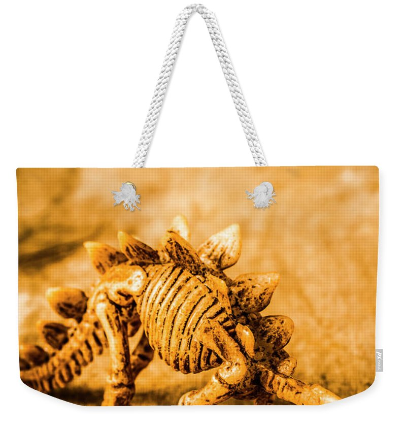 Toy Weekender Tote Bag featuring the photograph Restoration In Extinction by Jorgo Photography - Wall Art Gallery