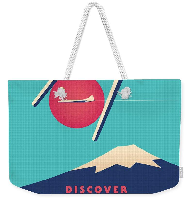 Illustration Weekender Tote Bags