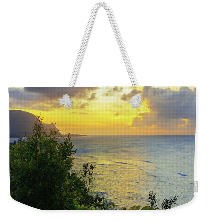 Beach Weekender Tote Bag featuring the photograph Return by Chad Dutson
