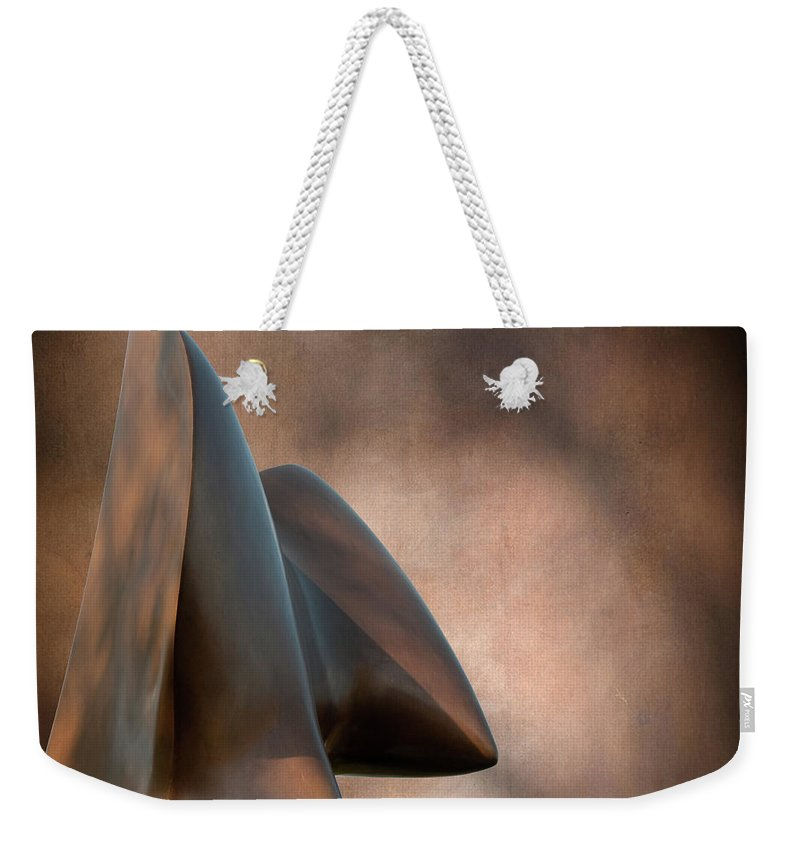 Abstract Weekender Tote Bag featuring the photograph Return by David Arment