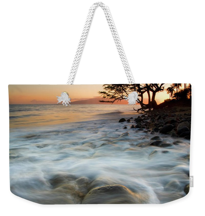 Tree Weekender Tote Bag featuring the photograph Return To The Sea by Mike Dawson