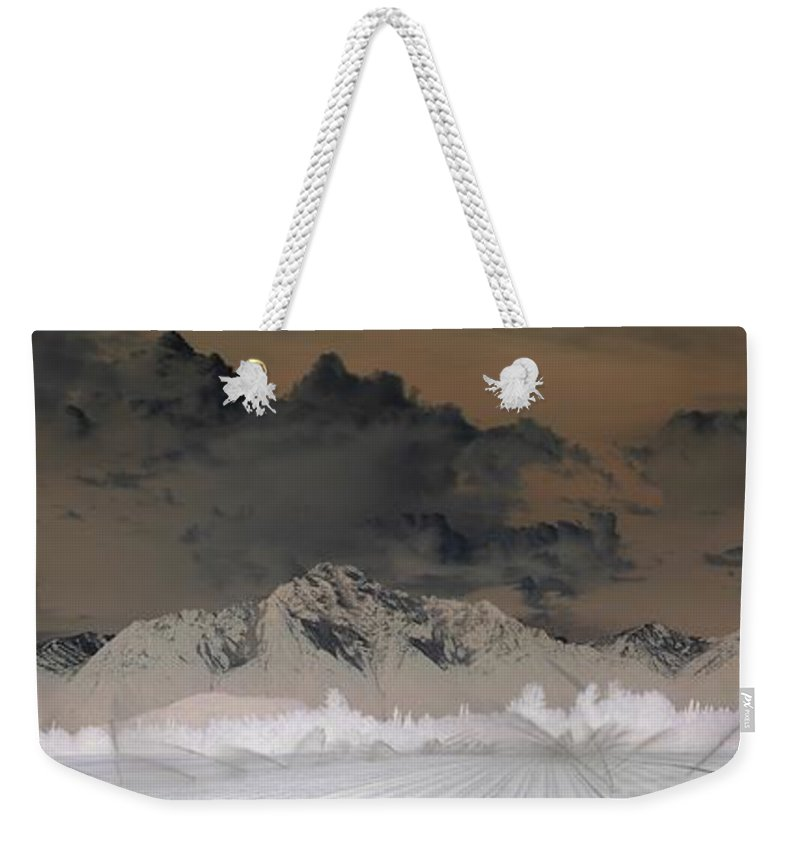 Landscape Weekender Tote Bag featuring the photograph Reverse Landscape by Ron Bissett