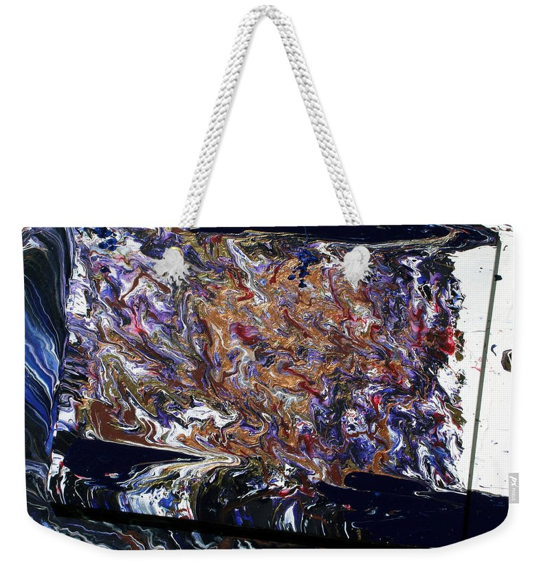 Fusionart Weekender Tote Bag featuring the painting Revolution by Ralph White