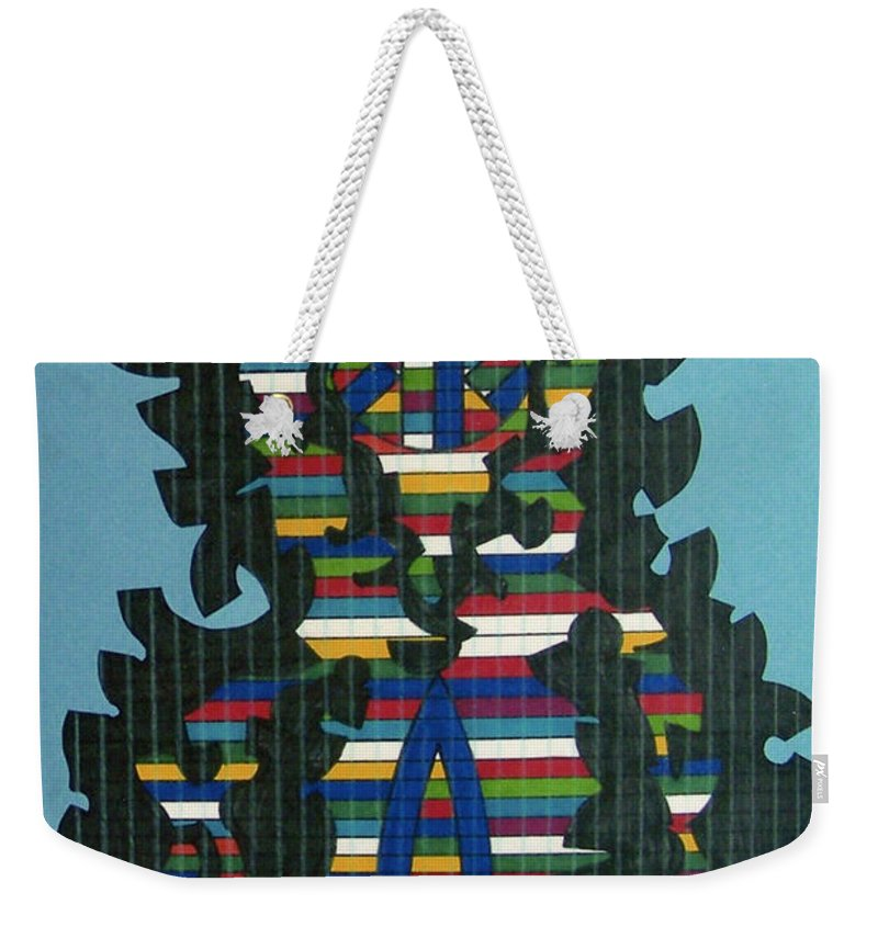 Weekender Tote Bag featuring the drawing Rfb0417 by Robert F Battles