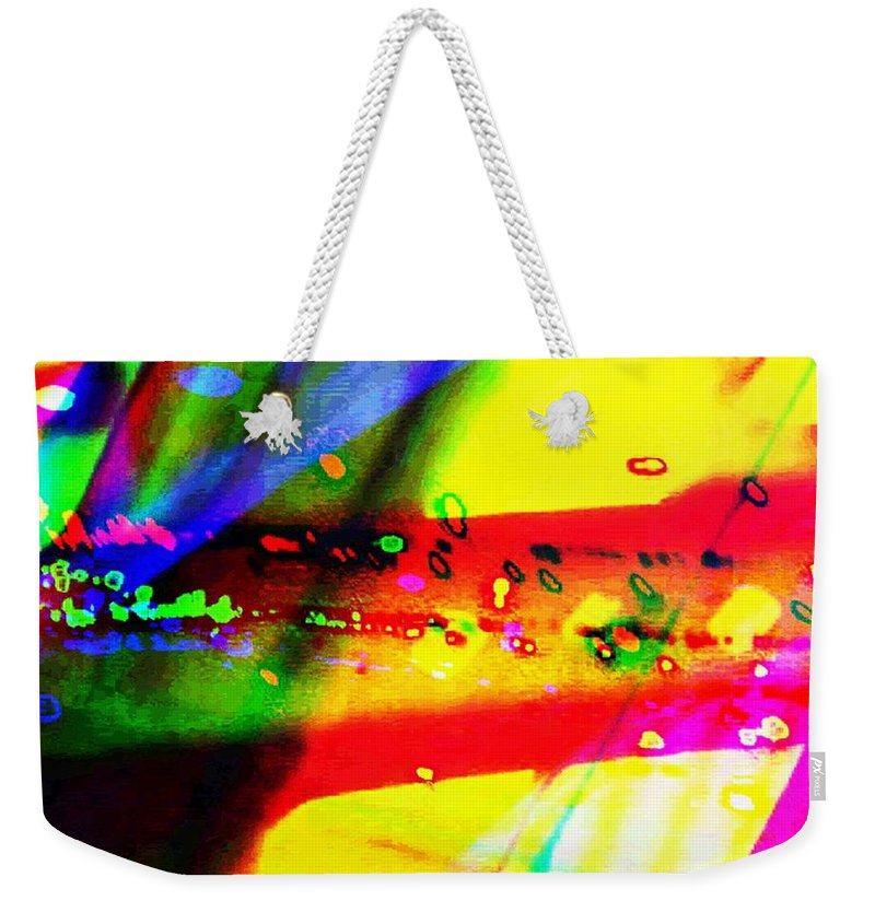 Art Digital Art Weekender Tote Bag featuring the digital art Rgb3a - York by Alex Porter
