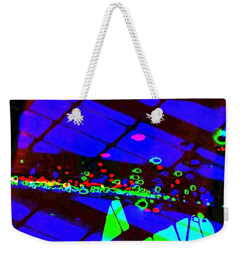 Art Digital Art Weekender Tote Bag featuring the digital art Rgb3b - York by Alex Porter