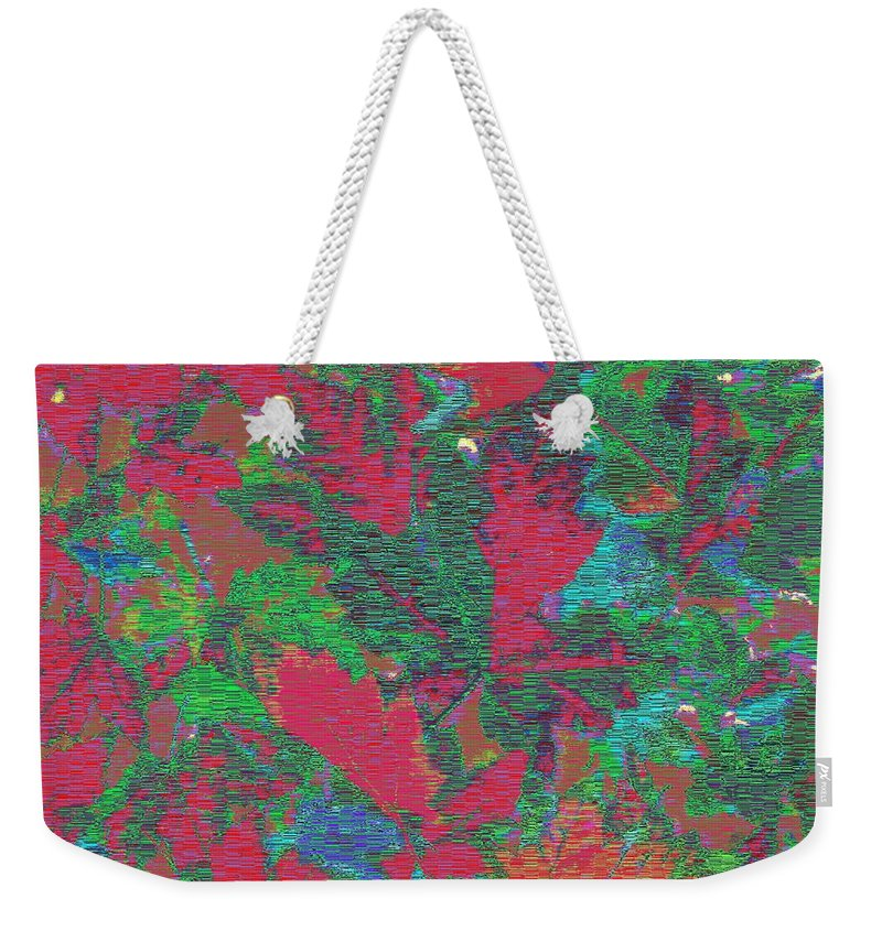 Rhapsody Weekender Tote Bag featuring the digital art Rhapsody In Fall by Tim Allen