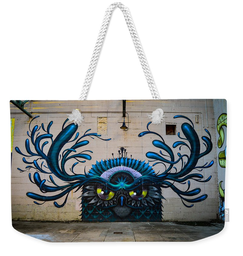 Street Art Weekender Tote Bag featuring the photograph Richmond Street Art by Aaron Dishner