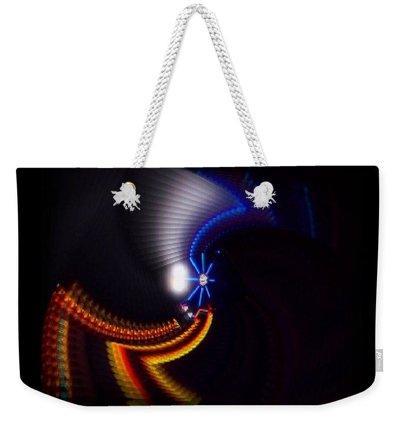 Chaos Weekender Tote Bag featuring the photograph Ride by Charles Stuart
