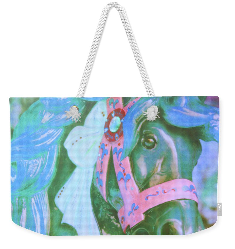 Horse Weekender Tote Bag featuring the photograph Ride Of Old Blues by JAMART Photography