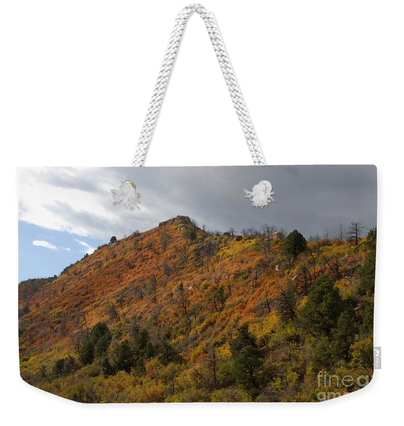 Landscape Weekender Tote Bag featuring the photograph Ridge Line by David Lee Thompson
