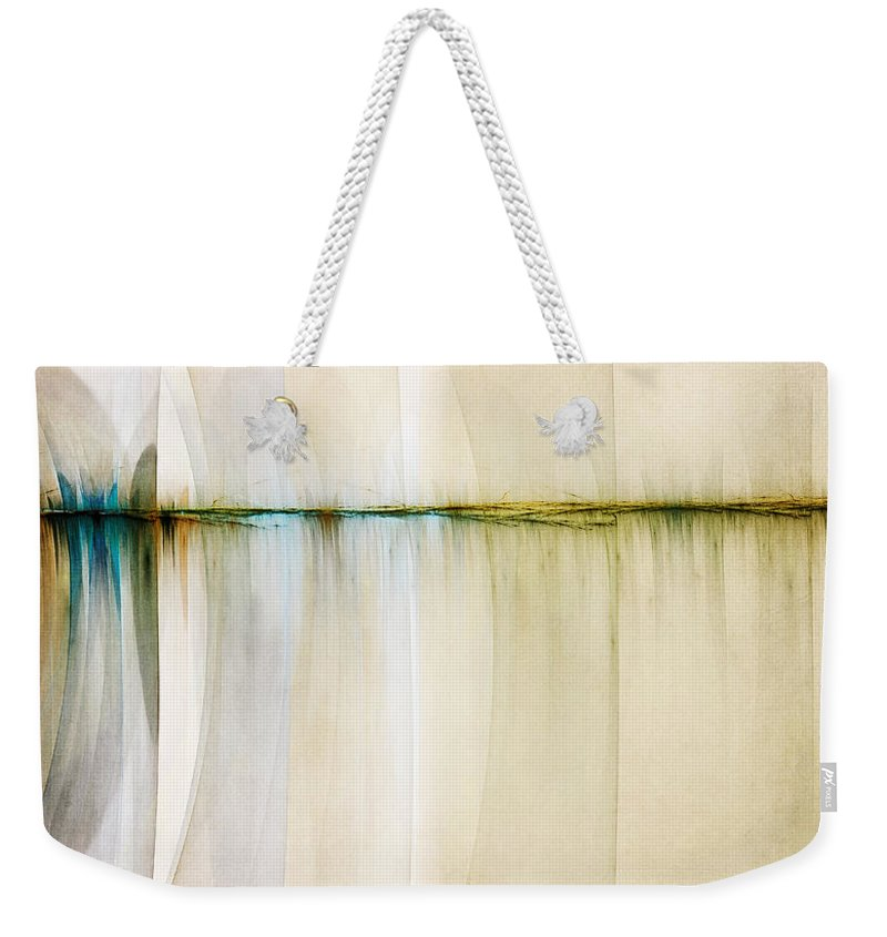 Digital Artwork Weekender Tote Bag featuring the digital art Rift In Time by Scott Norris