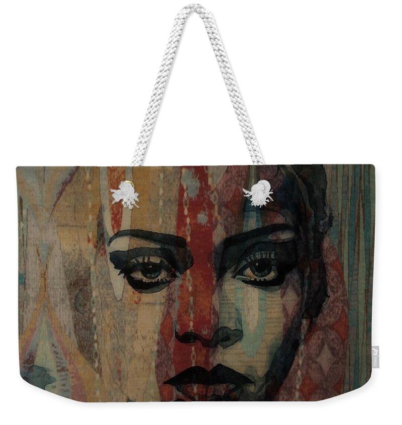 Rihanna Weekender Tote Bags
