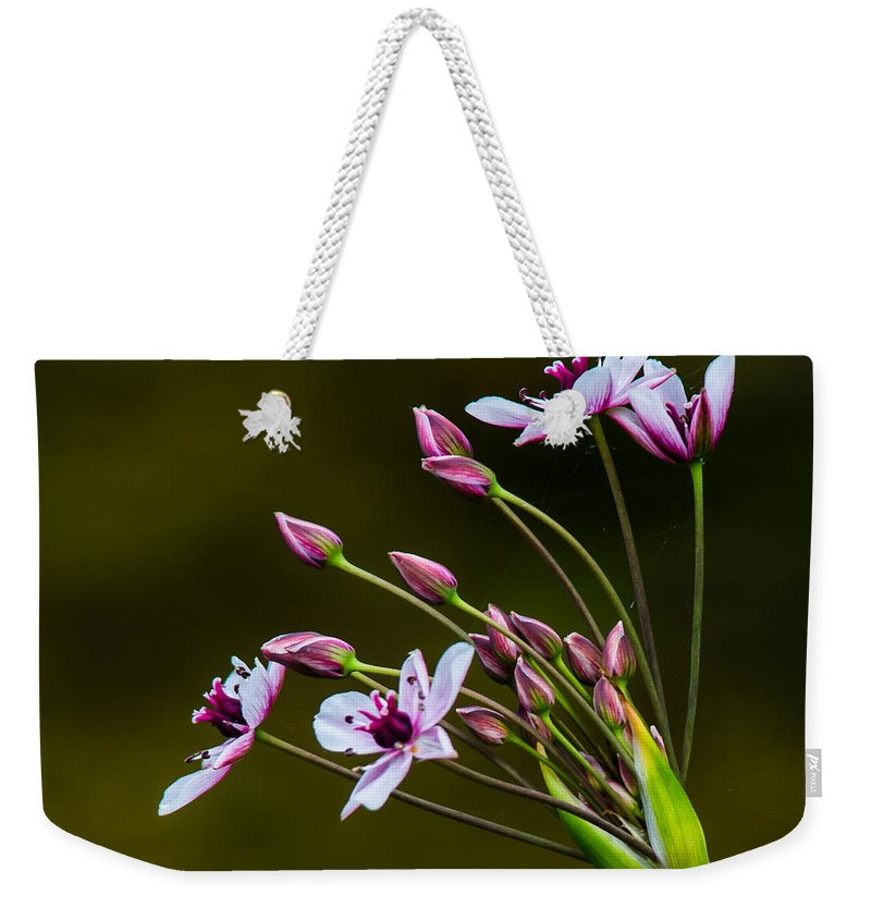 Wildflowers Weekender Tote Bag featuring the photograph Rings Around My Heart by Kristin Hunt