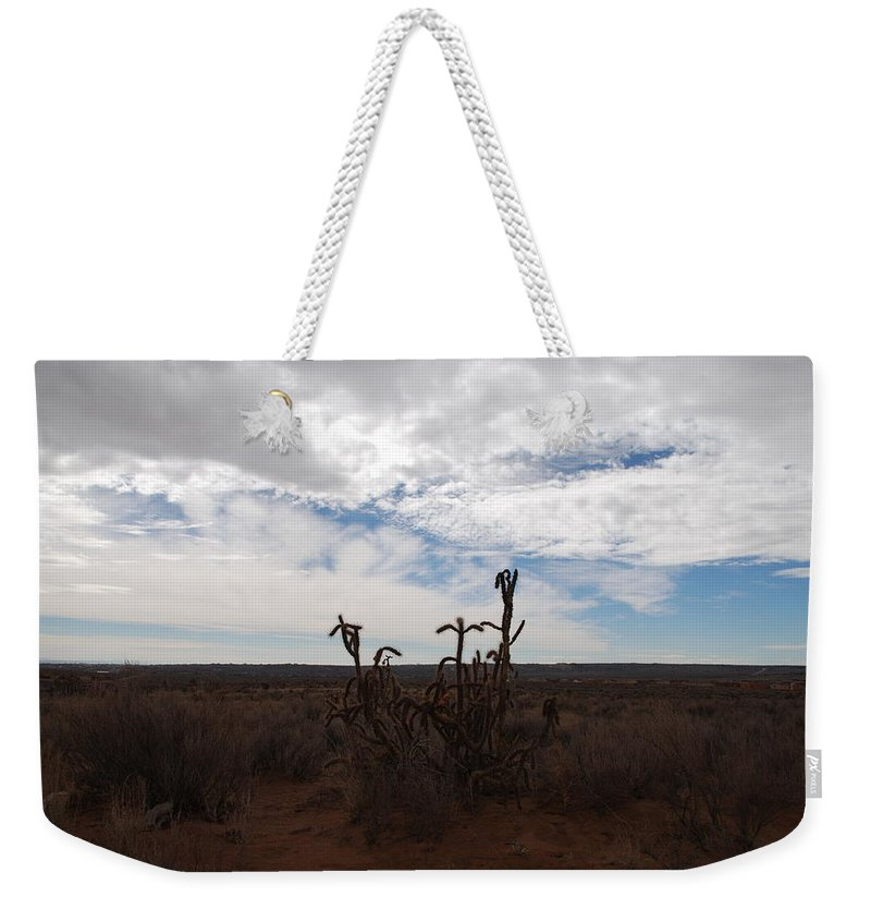 New Mexico Weekender Tote Bag featuring the photograph Rio Rancho New Mexico by Rob Hans