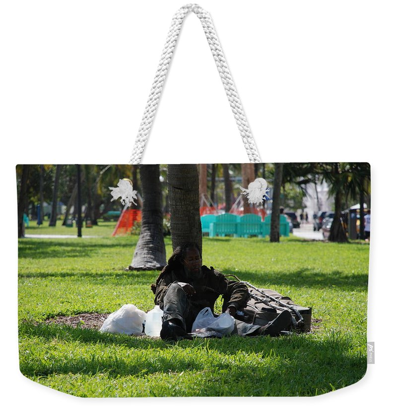 Urban Weekender Tote Bag featuring the photograph Rip Van Winkle by Rob Hans