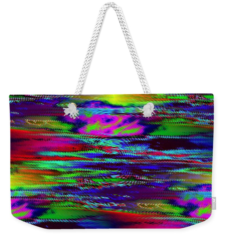 Sunset Weekender Tote Bag featuring the photograph Ripple Sunset by Tim Allen
