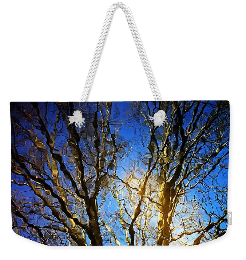 2d Weekender Tote Bag featuring the photograph Ripple Tree by Brian Wallace