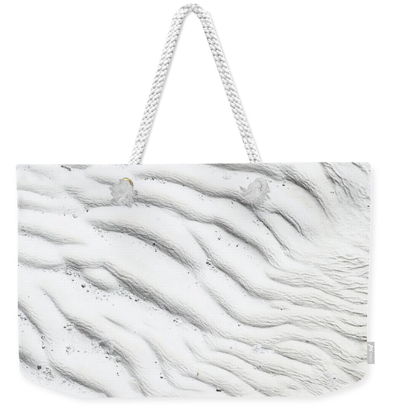 Weekender Tote Bag featuring the photograph Ripples I by Dia Karanouh