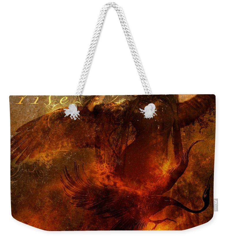 Phoenix Weekender Tote Bags