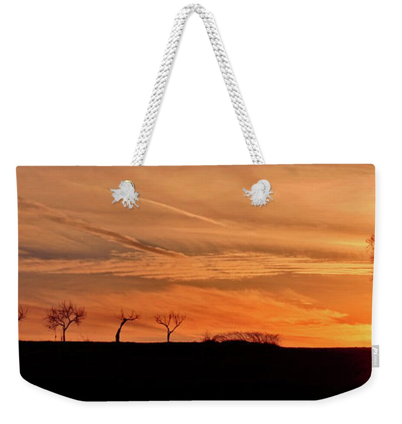 Sunrise Weekender Tote Bag featuring the photograph Risen by Scott Mahon