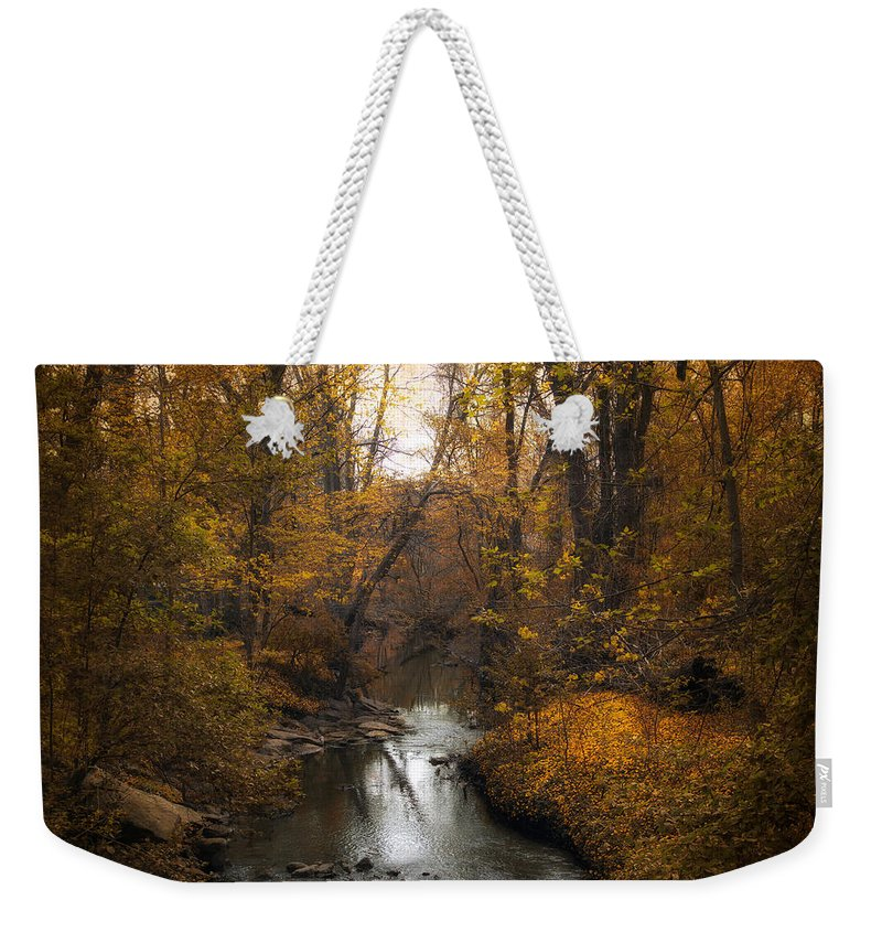 Seasons Weekender Tote Bag featuring the photograph River Views by Jessica Jenney