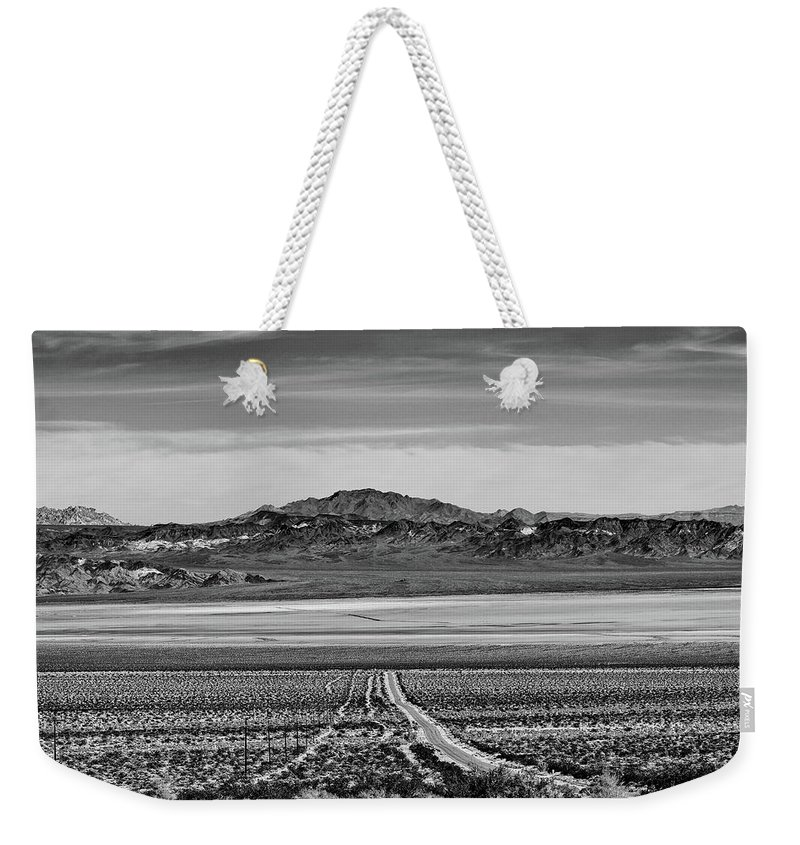 California Weekender Tote Bag featuring the digital art Road To ??? by Stevie Benintende