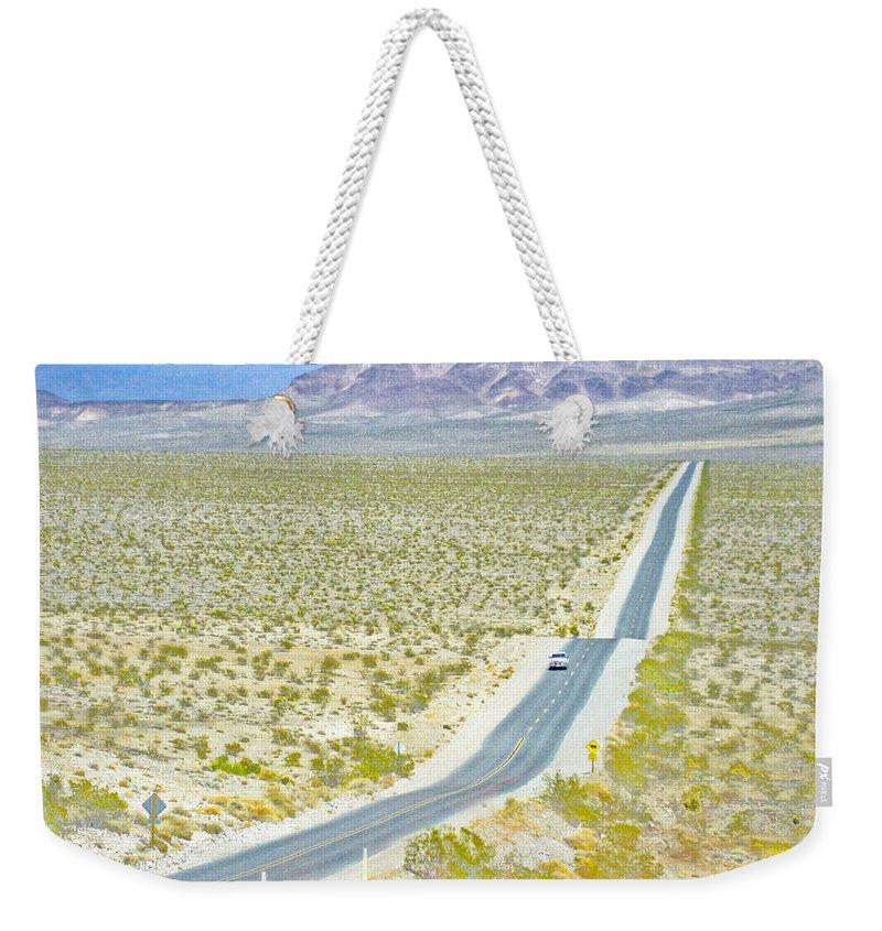 Road Trip Weekender Tote Bag featuring the photograph Road Trip 1 by Julie Niemela